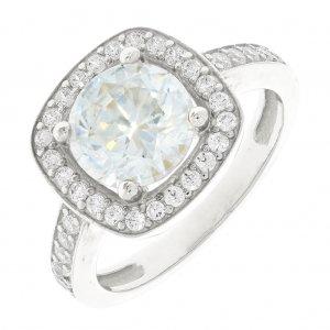 biele zlato · Prstene · Zrušiť filter · Zlatý dámsky prsteň K10.023.A2 6f197841ca7