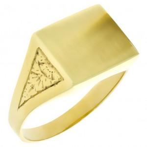 Zlatý pánsky prsteň K10.048.A1 30546e7f19a