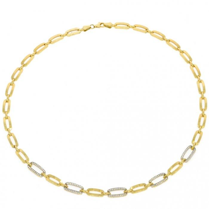 da6caa40b Zlatý dámsky náhrdelník K19.003.E1 | Klenotnik.sk