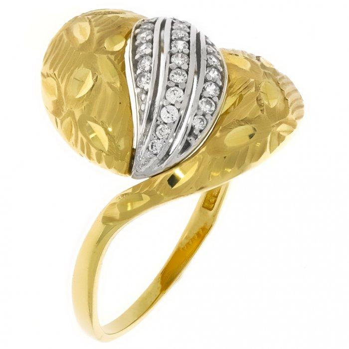 91da80f02 Zlatý dámsky prsteň K10.060.A3 62   Klenotnik.sk