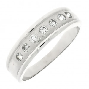 Zlaté prstene z bieleho zlata  5cf8625583b