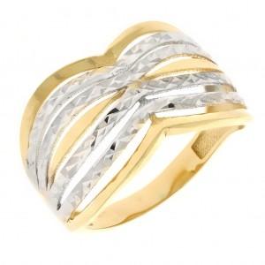d9bf9b518 Zlaté prstene z kombinovaného zlata   Klenotnik.sk