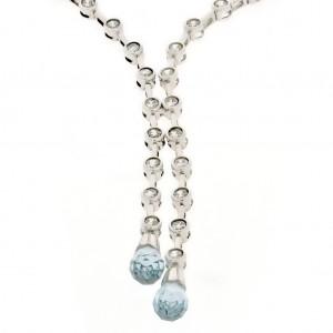 7ca3a861d Zlaté náhrdelníky z bieleho zlata v súpravách | Klenotnik.sk